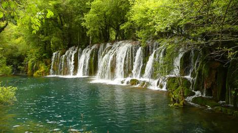 Jiuzhai Valley National Park, Sichuan, China