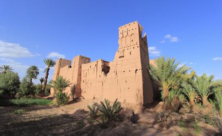 Oasis de Skoura, Maroc
