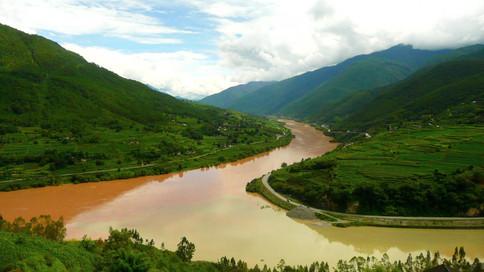 Gorges du Saut du Tigre, Yunnan, Chine