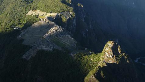 Machu Picchu from Wayna Picchu, Peru