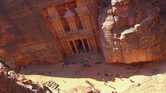 Al-Khazneh, Petra, Jordan
