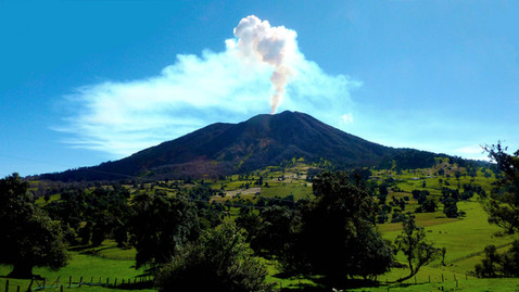 Volcan Turrialba, Costa Rica