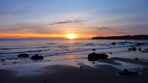 Le long de Big Sur, Californie, USA