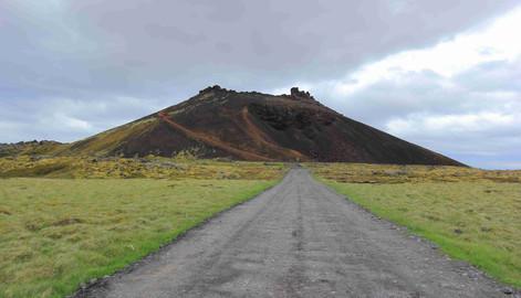 Saxhóll Crater, Iceland