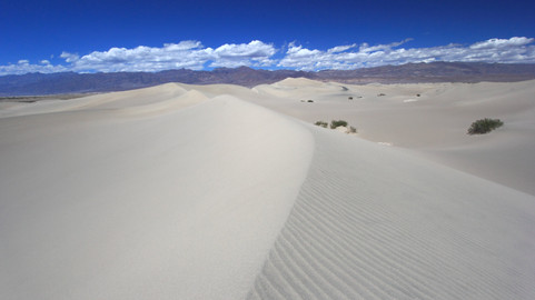 Mesquite Flat Sand Dunes, Death Valley NP, Californie, USA