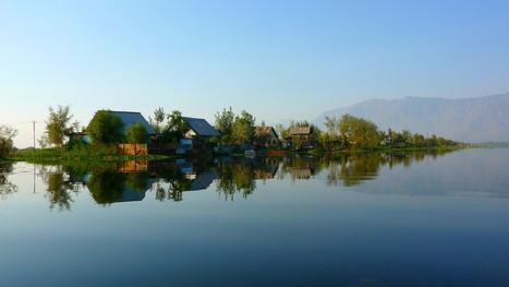 Lac Dal, Cachemire, Inde