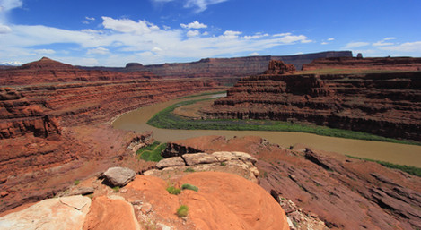 Colorado River, outside Island in the Sky District, Canyonlands NP, Utah, USA