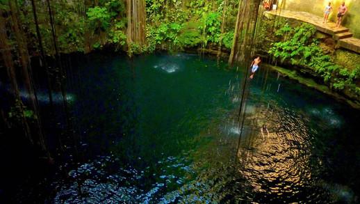 Cénote Ik-kil, Yucatan, Mexique