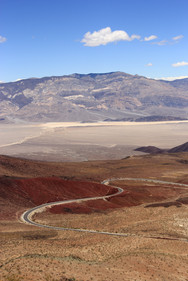 Paramint Valley, Californie, USA