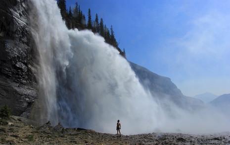 Emperor falls, Mount Robson Provincial Park , British Columbia, Canada