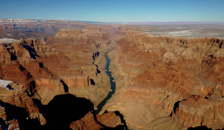 photograhe francais french photographer travel photography photographie voyage landscape paysage usa united states amerique etats unis grand canyon from above colorado river riviere