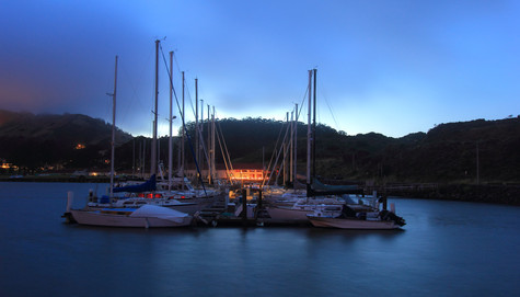 Golden Gate Marina, San Francisco, Californie, USA