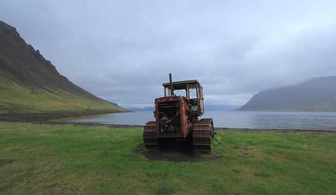 Tálknafjörður, Islande