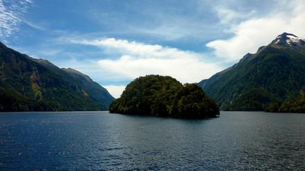 Nombril de Doubtful Sound, Nouvelle-Zélande