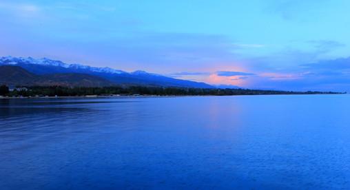 Lac Issyk Kul, Kyrgyzstan