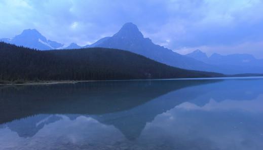 Waterfowl Lakes, Alberta, Canada