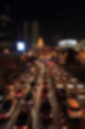 photographe francais french photographer travel photography photographie voyage cityscape city street architecture crossroad night nightscape china chine shanghai traffic jam