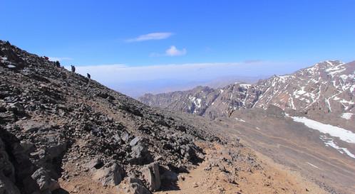 Djebel Toubkal, Maroc