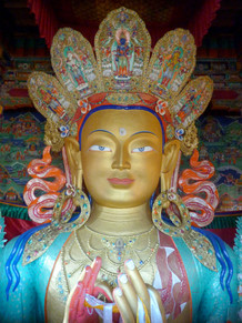Thiksey Gompa, Jammu et Cachemire, Inde