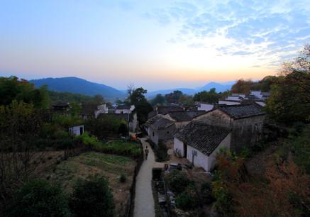 Environs d'Hongcun, Anhui, Chine