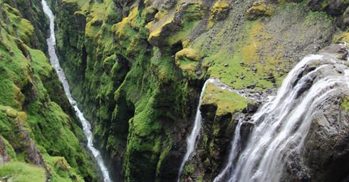 Glymur, Islande