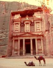Al -Khazneh, Petra, Jordanie