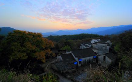 Environs de Hongcun, Anhui, Chine