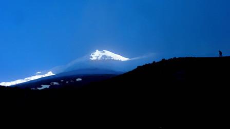 Mont Cotopaxi, Equateur