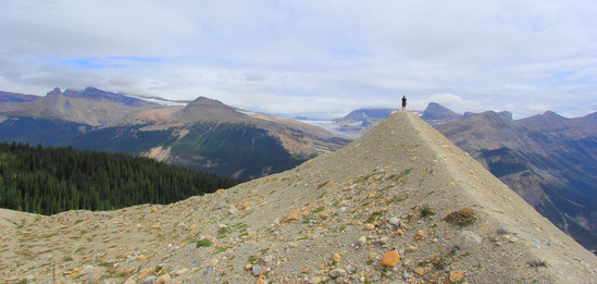 Iceline Trail, Yoho National Park, British Columbia, Canada