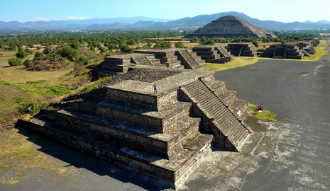 Teotihuacan, Mexique