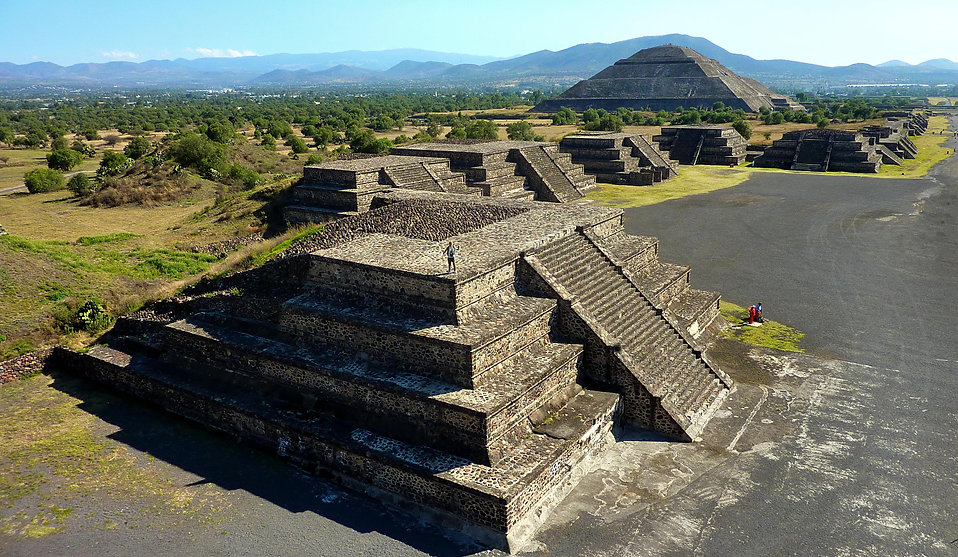 photograhe francais french photographer travel photography photographie voyage landscape paysage uneco pyramide pyramid mexico mexique teotihuacan