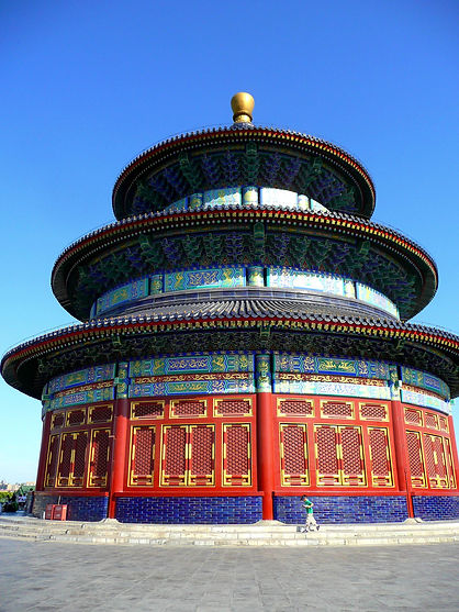 photograhe francais french photographer travel photography photographie voyage landscape paysage Temple du Ciel Pékin Chine temple of heaven beijing china architecture
