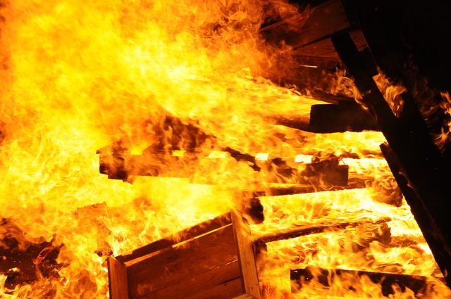 火災現場の恐怖を体験するシミュレーションVR