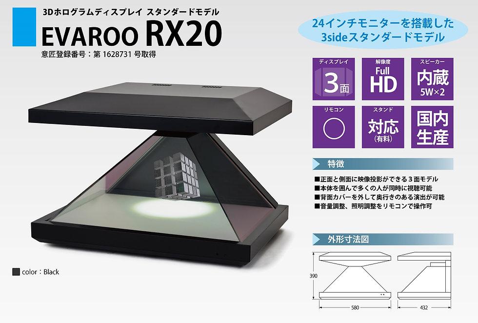 3Dホログラムディスプレイ