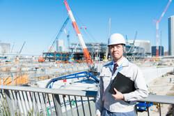 大規模工事現場で働く様子を紹介するプロモーションVR