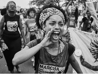 Thousands of  Black Women March for Equality in Brazil