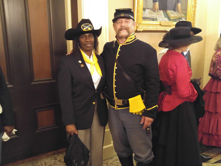 Buffalo Soldiers Receive A State Resolution.