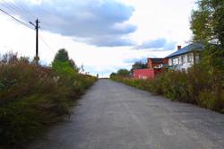 Подъездная дорога к поселку