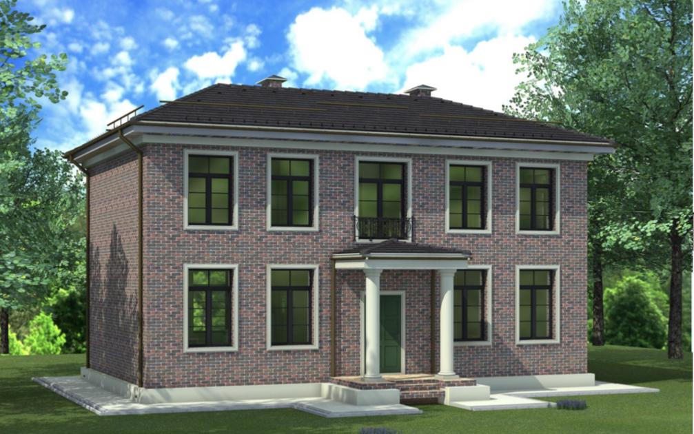 Проект дома в подарок в английском стиле