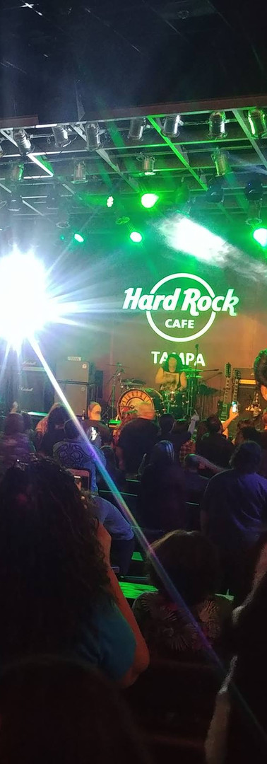 Nightrain Live at the Hard Rock Cafe & Casino, Tampa, Florida