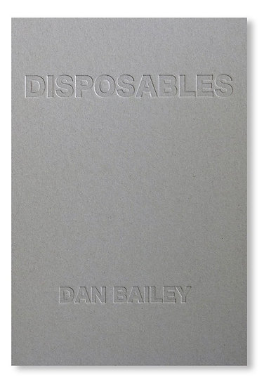 DISPOSABLES (BOOK)