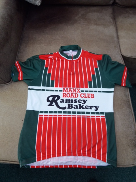 The Old Ramsey Bakery Sponsored MRC Jersey