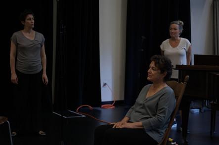 Michèle Losier, Chantal Lambert, Chantal Dionne  Crédit; Laetitia Mallette & Nicholas Tadros
