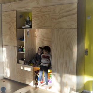 Plywood kast