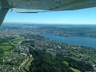 Over ZRH © Skydive Zürich