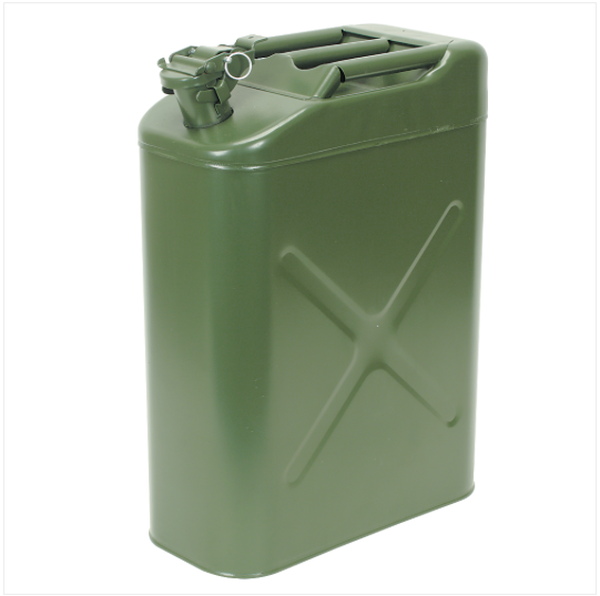 New Military Style Metal Jerry Cans