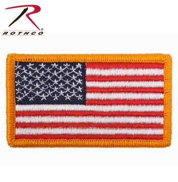 American Flag Patches w/HookBack