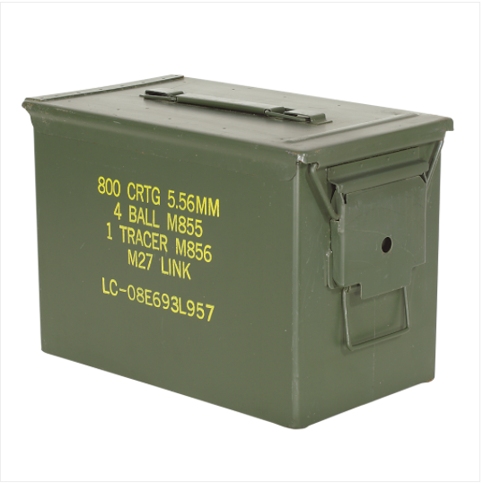 """Fat"" 50 Cal Ammo Can Used"