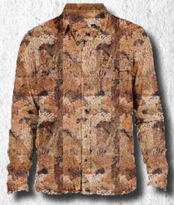 WFS Tech Shirt Shirt Birds Eyes Camo