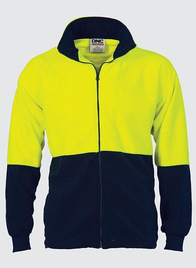 DNC Hi-Viz Fleece Jacket